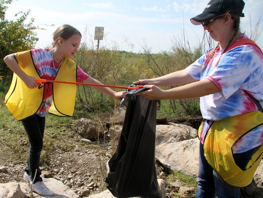 Pecos river clean up