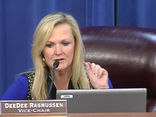 DeeDee Rasmussen was elected to lead the School Board as Chair on Tuesday night.