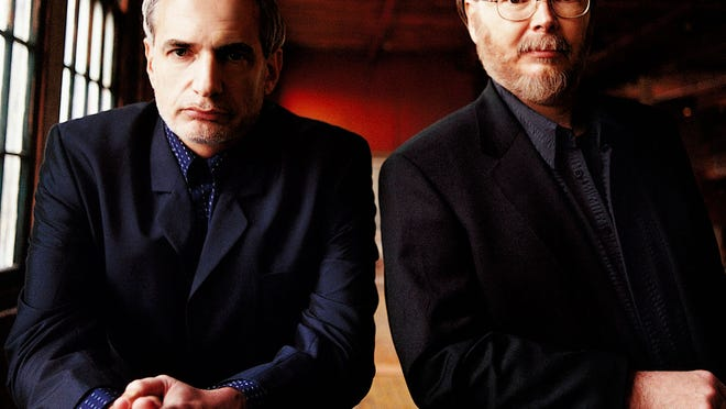 Steely Dan's Donald Fagen and Walter Becker will roll through a lengthy collection of hits when they play Appleton's Fox Cities Performing Arts Center Tuesday.