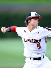Orioles' prospect Ryan Mountcastle participated in the Under Armour All-American Game on Aug. 16, 2014 at Wrigley Field in Chicago, Illinois.