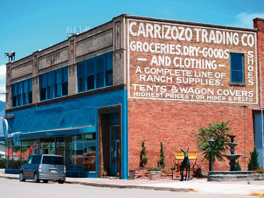 """This building dates back to 1917 in Carrizozo's history. The building has been used for a variety of businesses since its beginnings. Every generation of Carrizozo residents has its """"back when"""" stories of this grand old building."""