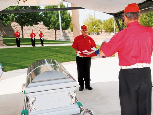 Members of the honor guard from the Marine Corps League/Detachment 1328 in Silver City took top honors on Friday at the 2015 Honor Guard Conference, held at the New Mexico Veterans Memorial in Albuquerque. Courtesy Photo