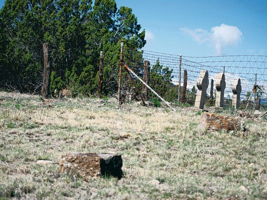 At the old Fort Stanton cemetery, two stone bases minus missing headstones are believed to be the grave sites of Robert Beckwith, who was killed in the Five-Day Battle, and Bob Olinger, who was killed by Billy the Kid during a jail break.
