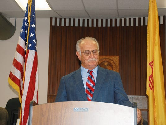 Robert M. Doughty II, attorney at law, served as mater of ceremony at he recent investiture of Daniel A. Bryant, district judge, 12th Judicial District, Division III.
