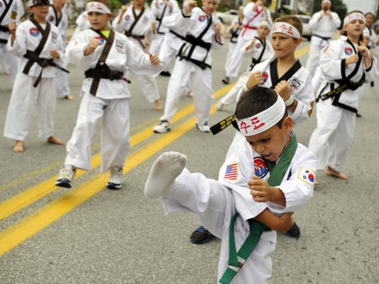 File photo Entertainment from local organizations, like Kim's Karate, will be among the highlights at the 39th annual Red Lion Street Fair, to be held Saturday in Red Lion.
