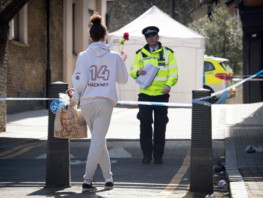 AP BRITAIN LONDON CRIME I GBR