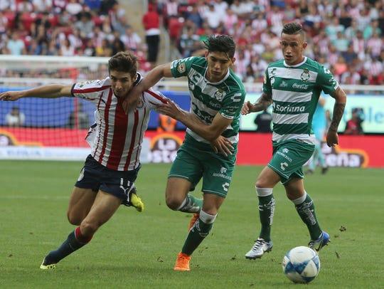 Chivas cayeron con Santos 2-1 en la jornada 4 del Apertura