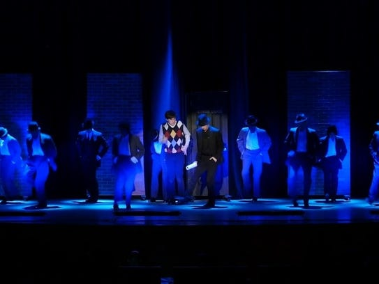 """Walter Panas High School's production of """"Bullets Over"""
