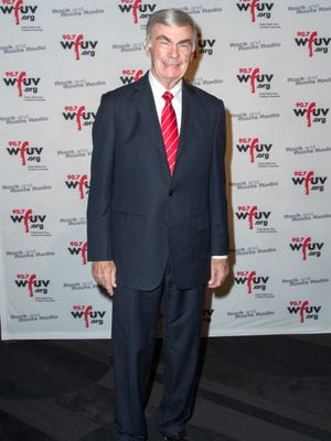 Sam Donaldson attends the sixth annual WFUV Spring Gala at The Edison Ballroom on May 9, 2013, in New York City.