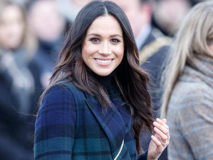 "The fourth stop on the ""Meet Meghan Markle"" tour of"