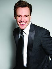 Actor/Singer Erich Bergen will perform with the Shreveport