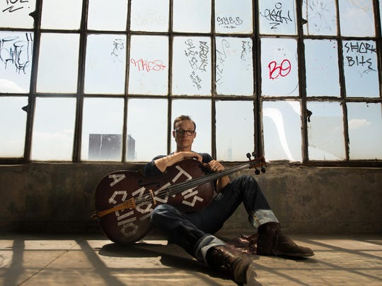 Ben Sollee performs Friday at the Center for the Arts in Homer.