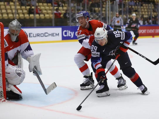 2016 second-round pick Filip Hronek had a very good first year of pro hockey with Grand Rapids and also starred for the Czech Republic at the 2018 IIHF World Championship.