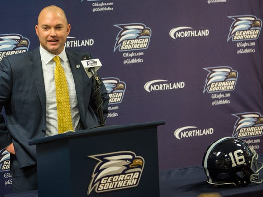 Summers was hired as Willie Fritz's successor at Georgia Southern last December.