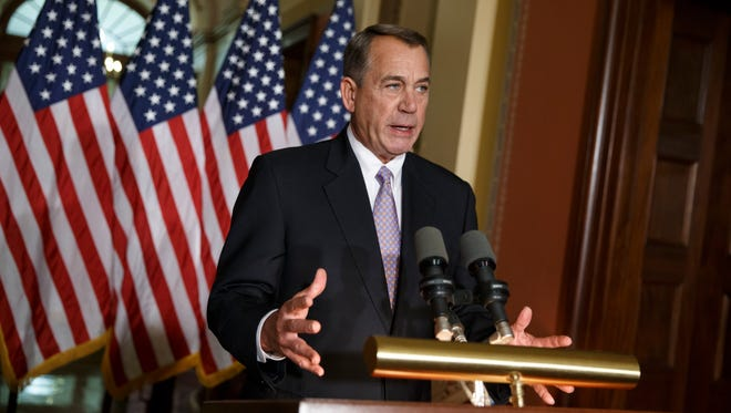 House Speaker John Boehner of Ohio.
