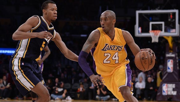 Apr 13, 2016; Los Angeles, CA, USA; Los Angeles Lakers
