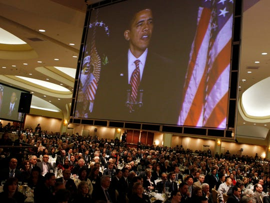 This Feb. 5, 2009 file photo shows then-President Obama