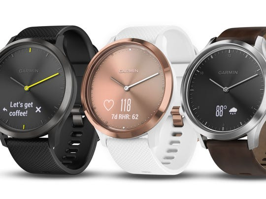 Garmin's vivomove HR ($199.99 for a Sport model, $299.99