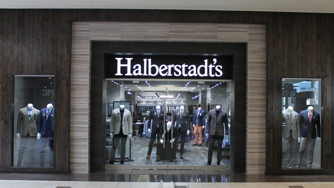 The entrance to the new Halberstadt's location in the Empire Mall.