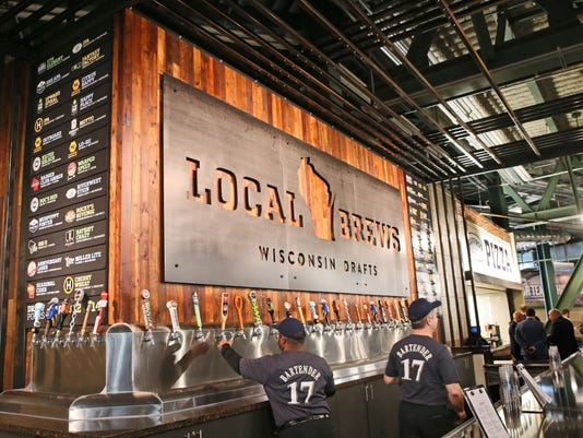 Guide To Beer Craft And Otherwise At Miller Park