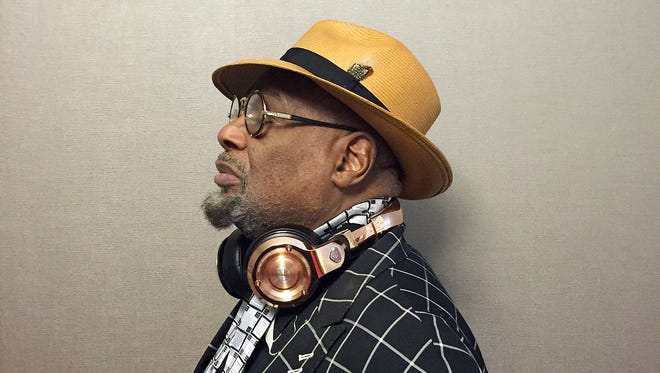 George Clinton photographed on Friday, August 26, 2016, in Detroit, MI.