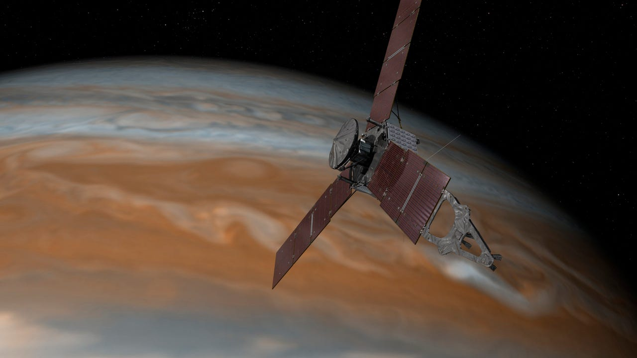 NASA releases video of Juno approaching Jupiter system