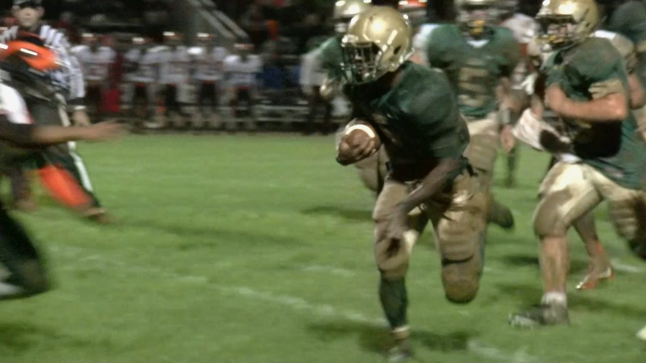 Watch: York Catholic powers through mud to victory
