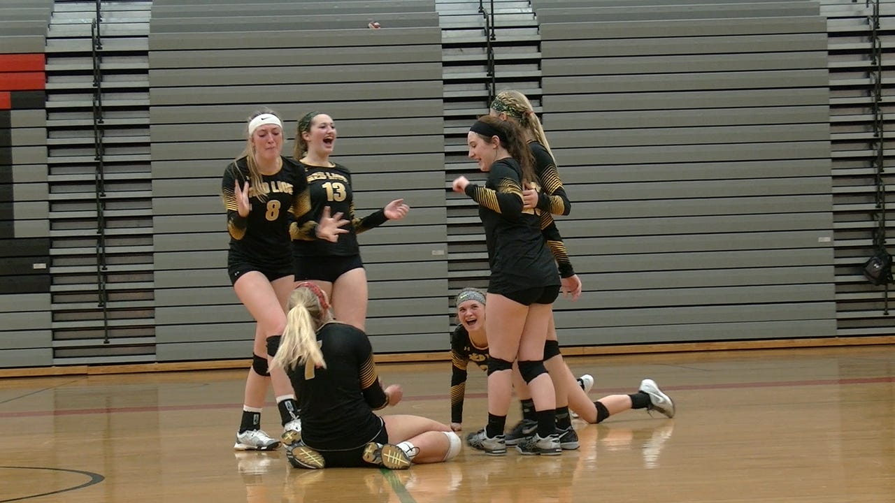 Watch: Red Lion volleyball headed to district final