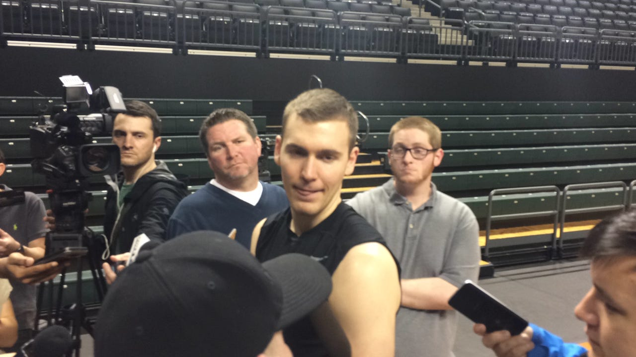 Casey Benson on Oregon Ducks: 'There's still work left to be done'