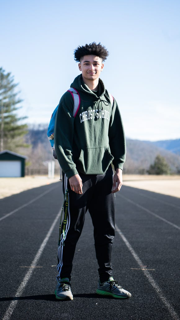 Kevin Snyder, a student at Christ School, class of