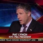 Patrick Lynch, president of the New York City Patrolmen's Benevolent Association.