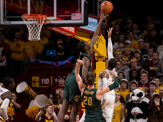 Jaren Jackson, who leads the nation in blocked shots,