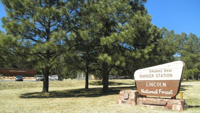 The Smokey Bear Ranger District office is on Mechem Drive and Cedar Creek Drive in Ruidoso.