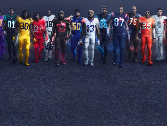 The NFL has unveiled its Color Rush uniforms for the