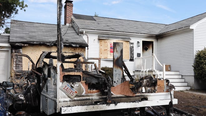 A Milton fire destroyed a camper and damaged at home at 24 Adrian Road on Wednesday, Aug. 19.