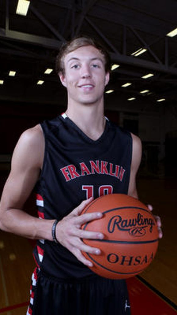 Franklin's Luke Kennard is the  reigning Ohio Mr. Basketball