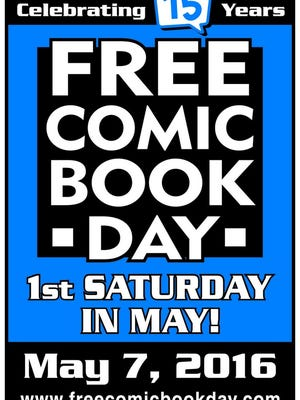 Camden County Library System is celebrating Free Comic Book Day by giving away goodies at several locations