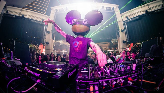 Deadmau5 performs at XS nightclub at the Encore at Wynn in Las Vegas in 2012.