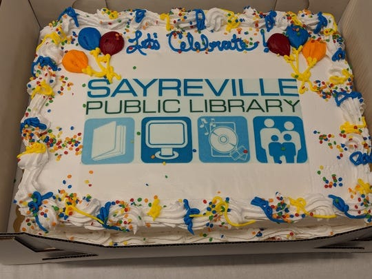 The Sayreville Public Library community recently celebrated the modernization and renovation of its meeting room.