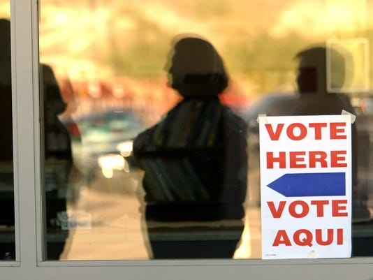 Early voting in Arizona