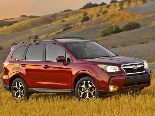 AP SUBARU OF AMERICA, INC. 2014 FORESTER(R) CROSSOVER SUV