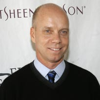 """FILE - In this April 9, 2007 file photo, former Olympic figure skating gold medalist Scott Hamilton arrives for Figure Skating In Harlem's annual gala """"Skating with the Stars"""" at Central Park's Wollman Rink in New York. Hamilton  told People magazine for a story published online on Oct. 23, 2016, that he has been diagnosed with another brain tumor. (AP Photo/Jason DeCrow, File)"""