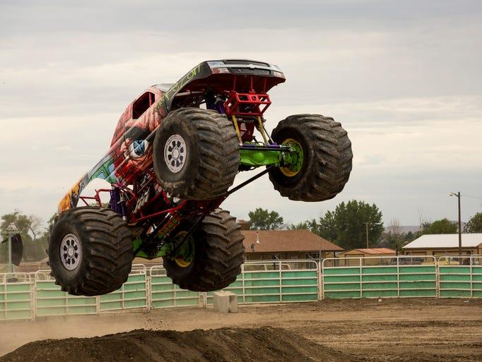 Octane Fest featured monster trucks, drag races, stuntmen