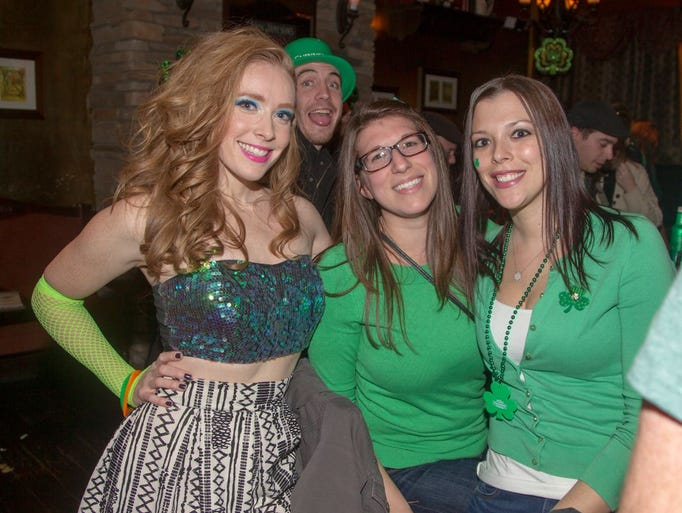 The St. Patrick's Day Celebation at The Shannon Rose