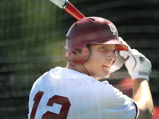 Alex Dickerson was one of the Big Ten's most feared hitters during his time at Indiana.