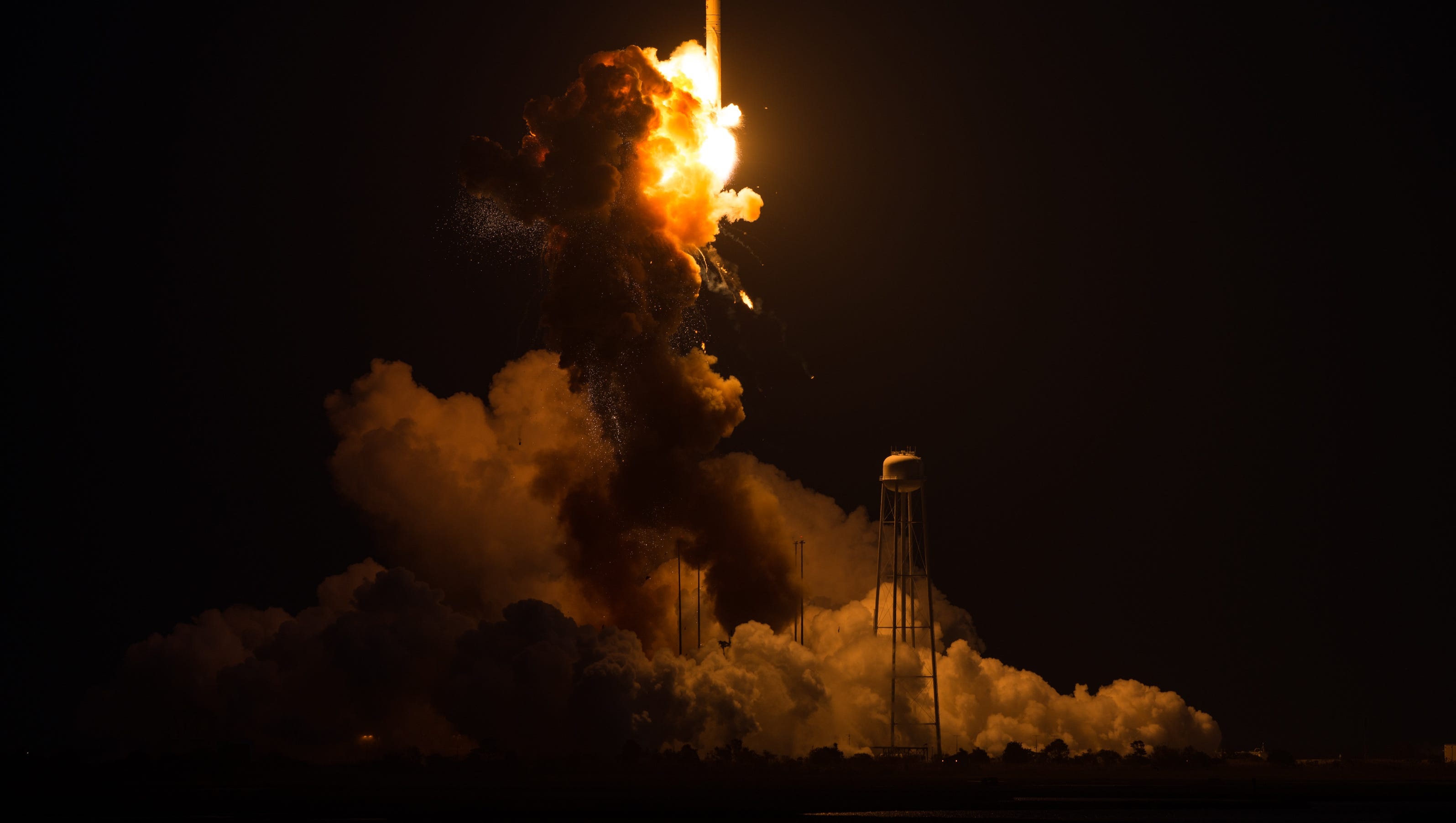 Hearts sink in Madison Heights with NASA rocket explosion