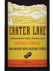 Crater Lake Hazelnut Coffee Liqueur