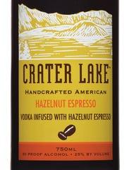Crater Lake Hazelnut Coffee Liqueur