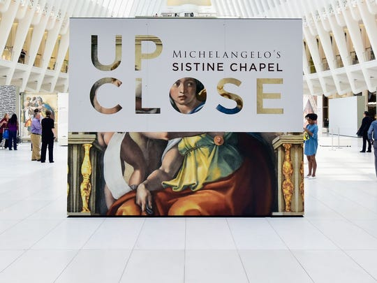 Up Close: Michelangelo's Sistine Chapel opens Saturday