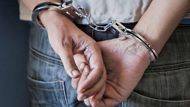 Handcuff stock image